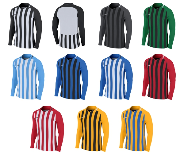 3cdb83350 PG Sports Nike Striped Division III Jersey (L S)
